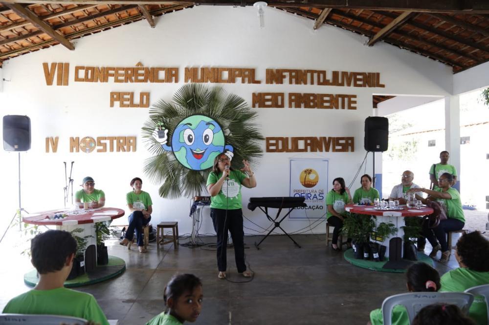Oeiras promove 7ª Conferência Infantojuvenil pelo Meio Ambiente e 4ª Mostra Educanvisa